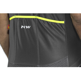 Northwave Storm Air SS Jersey Men graphite/yellow